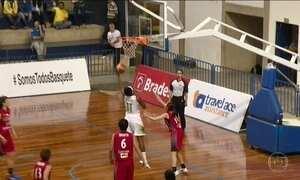 Seleção feminina de basquete derrota o Japão em amistoso, em Campinas (SP)