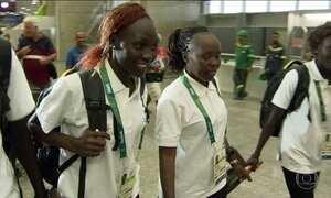 Delegações de 33 países chegam ao Rio para participar da Olimpíada