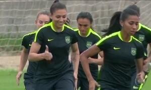 Futebol feminino é esperança de medalha nos Jogos Olímpicos