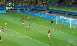Seleção goleia a Dinamarca e se prepara para próximo jogo