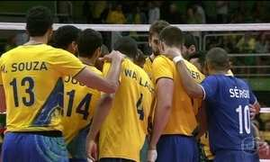Brasil perde para os EUA no vôlei masculino, primeira derrota na Rio 2016