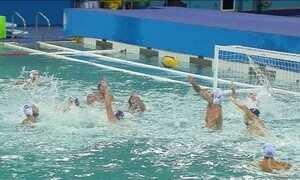 Seleção brasileira de polo aquático está classificada para as quartas de final