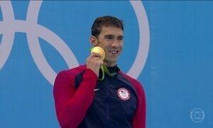 Michael Phelps se despede das piscinas olimpicas