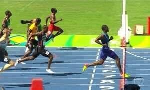 Usain Bolt estreia na pista do atletismo da Olimpíada