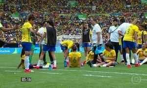Meninas do futebol saem da disputa pelo ouro