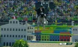 Brasil disputa final de saltos por equipe no hipismo