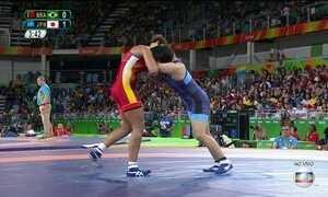 Aline Silva está fora da luta por medalhas