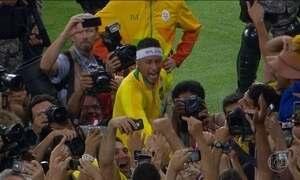 Brasil conquista o inédito ouro olímpico no futebol