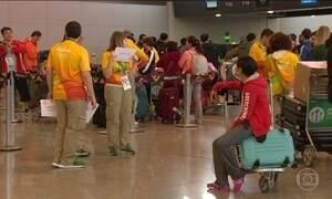Aeroporto do Galeão tem o maior movimento do ano com despedida de turistas e atletas