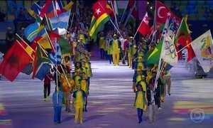 Cerimônia de encerramento celebra o fim dos Jogos Olímpicos