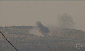Turquia faz grande operação na fronteira com a Síria