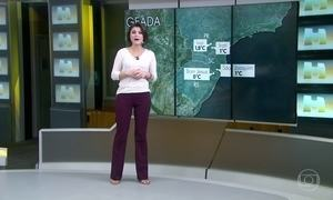 Cidades do Sul do país registram geada nesta quarta-feira (24)