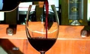 Produtores de vinho de SC brindam alta nas vendas