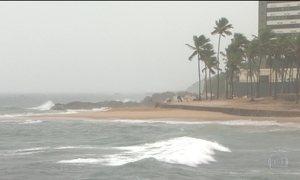 Previsão é de mais chuva na Bahia até sábado (27)
