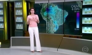 Previsão é de chuva localizada em alguns pontos de Manaus (AM)