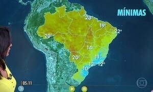 Confira como fica o tempo nesta sexta-feira (26)