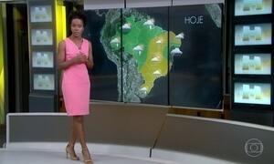 Previsão é de nova frente fria para o Sul do Brasil