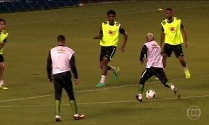 Seleção Brasileira se prepara para o jogo contra o Equador