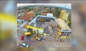 Quadrilha explode transportadora no Pará