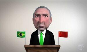 Michel Temer resolve dizer algumas poucas palavras aos brasileiros
