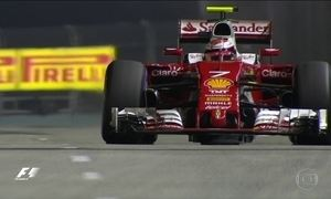 Nico Rosberg, vice líder da Fórmula 1, vai largar na frente no Grande Prêmio de Cingapura