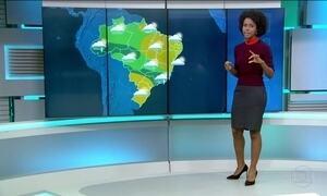 Boa parte do Brasil terá tempo nublado nesta terça-feira (20)