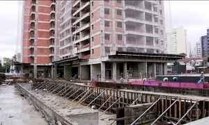 Indústria e construção civil operam abaixo da capacidade produtiva
