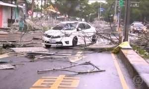 Terceiro tufão deixa quatro mortos e mais de 160 feridos em Taiwan