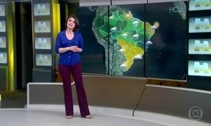 Previsão é de chuva em Palmas, no Tocantins, e em São Luís ,no Maranhão