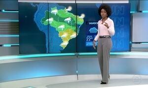 Quarta-feira (28) será de chuva em grande parte do Brasil
