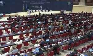 Duzentos países assinam acordo para frear mudanças climáticas