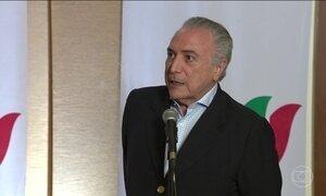 Michel Temer está na Índia para participar de encontro do BRICS