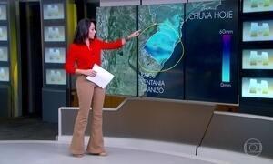 Previsão é de temporal em Santa Catarina