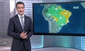 Veja como fica o tempo em todo o Brasil nesta quarta-feira (19)