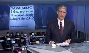 Copom reduz taxa Selic para 14% ao ano, primeira queda em quatro anos