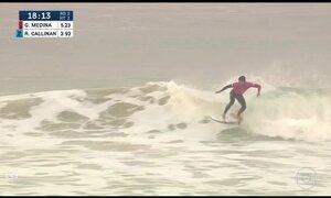 Gabriel Medina é o segundo colocado na etapa de Portugal da Liga Mundial de Surfe