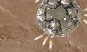 Sonda europeia para de dar sinais após pousar em Marte