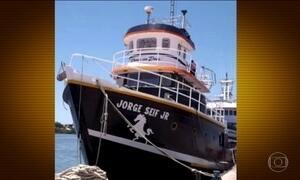Marinha procura seis pescadores desaparecidos no litoral de SC
