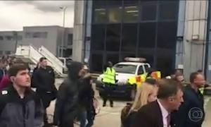 Autoridades de Londres esvaziaram um dos aeroportos da cidade