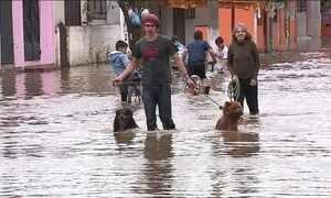 Cidades do Rio Grande do Sul sofrem com enchentes