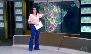 Previsão é de chuva em vários estados brasileiros