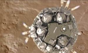Análise indica que falha de computador impediu que sonda Schiaparelli pousasse em Marte