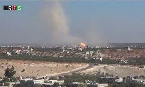 Bombardeio atinge escolas na Síria e deixa mortos