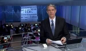 País continua com 12 milhões de desempregados no terceiro trimestre