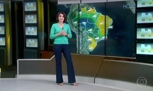 Previsão é de chuva para cidades do estado de São Paulo