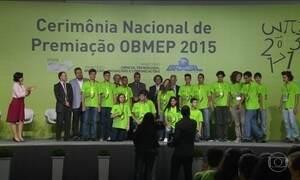 Vencedores da Olimpíada de Matemática disputam com 18 milhões de concorrentes