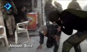 ONU condena ataques aéreos do governo sírio contra bairros da cidade de Aleppo