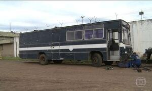 RS vai usar ônibus para manter presos quando faltar celas