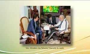 Primeiro-ministro japonês manda condolências ao povo cubano