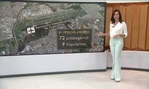 Avião da Chapecoense perdeu contato com a torre ao se aproximar do aeroporto de Medellín